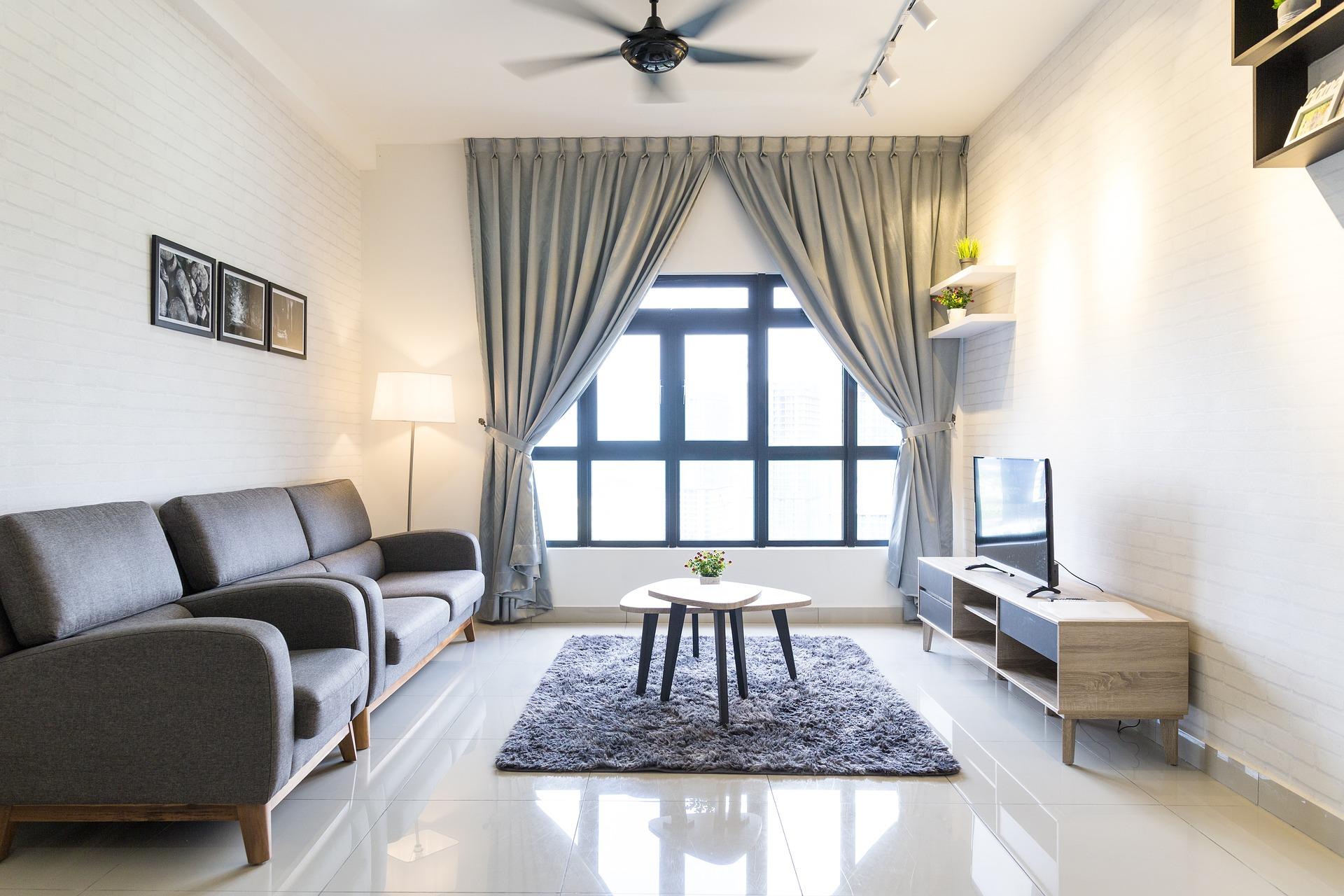 Obývák moderní interiér