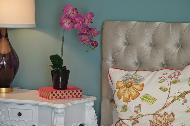 orchidej u postele