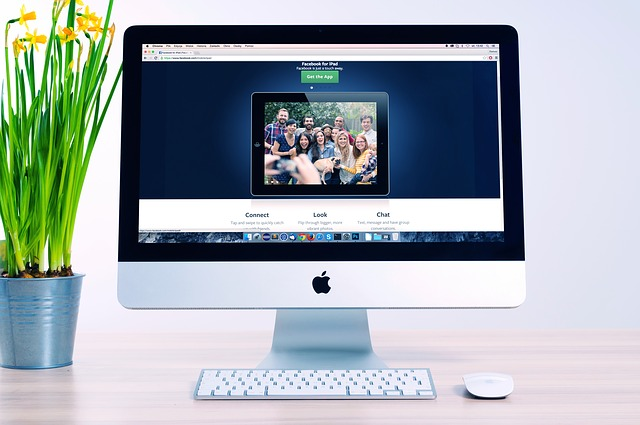 fotka na monitoru