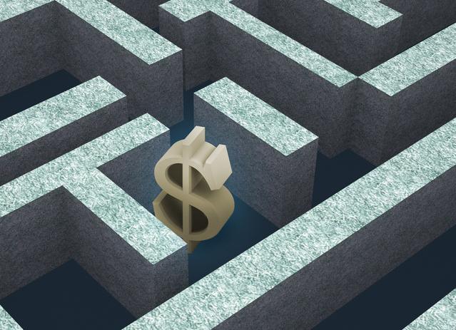dolar v bludišti