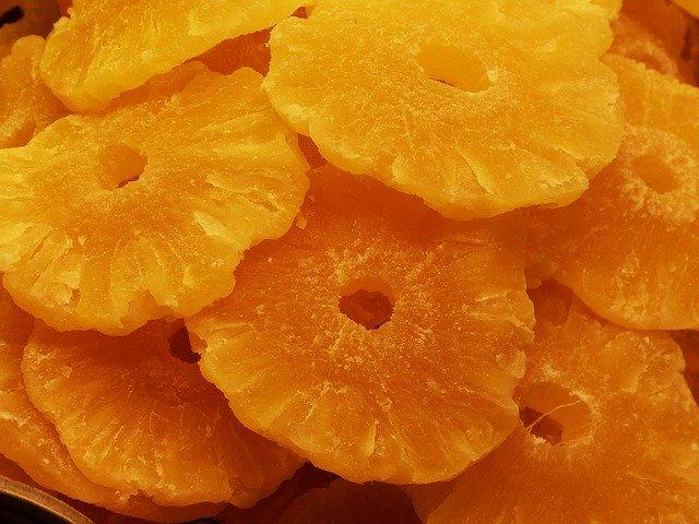 sušený ananas
